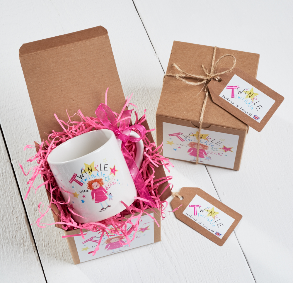 Twinkle Twinkle Little Star Childs Mug Gift Boxed | 60 Second ...